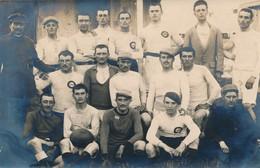 I41 - Carte Photo - L'équipe De Rugby Du 89e Ou 117e - Rugby