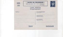 Entier Postal Carte Postale 5,00 F Pétain Neuf Noël 1941 Salon Du Prisonnier - Entiers Postaux