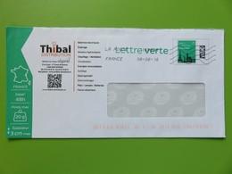 PAP - Entier Postal - Monuments Tour Eiffel - Thibal - Route De Bournac - St Affrique (12) - Lettre Verte - 06.06.16 - Entiers Postaux