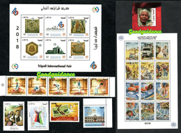 2018- Libya - Libye- Complete Full Year - Année Complète - MNH** - Libia
