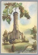 NL.- VALKENBURG. Limburg. WILHELMINATOREN. 1947. AQUAREL - Schone Kunsten