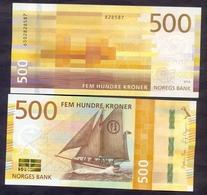Norway 500 Kroner 2018 UNC P- 56 - Norvegia