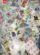Collection Lot Vrac De 1900 Timbres Du Monde Oblitérés Et Assortis - Stamps