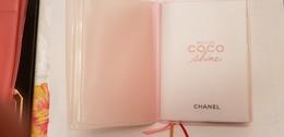 PARFUM  CHANEL  ROUGE COCO SHINE  BLOC NOTES PORTE PHOTOS ROSE   NEUF - Accessoires