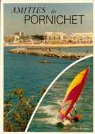 Dep 44 , Cpm Amitiés De PORNICHET  , Multivues  (D09.4321) - Pornichet