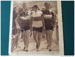 1935 CYCLISME PARIS NICE / René VIETTO / BOXE Mairice HOLTZER / FOOTBALL PARIS VIENNE / PING PONG /  MATCH L'INTRAN - Journaux - Quotidiens
