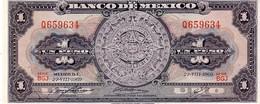 Mexico P.59 1 Peso 1969 Unc - Messico