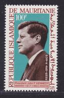 MAURITANIE AERIENS N°   44 ** MNH Neuf Sans Charnière, TB (D8360) Anniversaire De La Mort De John F.Kennedy - 1964 - Mauritania (1960-...)