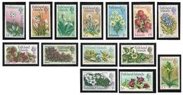 Falkland Islands, 1968 Flowers - MNH, Mixt Condition - AT-10 - Falkland