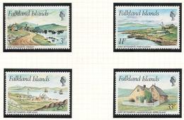 Falkland Islands, 1980 Early Settlements - MNH - AT-40 - Falkland Islands