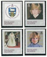 Falkland Islands, 1982 The 21st Anniversary Of The Birth Of Diana, Princess Of Wales, 1961-1997 - MNH - AT-49 - Falklandeilanden