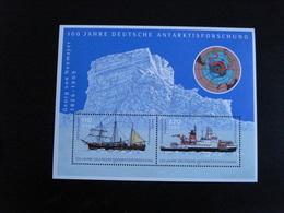 Allemagne - Année 2001 - Exploration Allemande En Antarctique - Y.T.  BF 55  - Neufs (**) Mint (MNH) Postfrisch - Blocks & Sheetlets