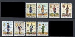Sao Tome Et Principe 1965 Y&T N°391 à 398 - Michel N°394 à 401 * - Uniformes Militaires - Sao Tome And Principe