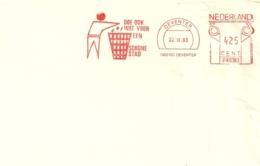 Nederland Deventer 1983 / Schone Stad Poubelle Trash Can / Fragment - Protection De L'environnement & Climat