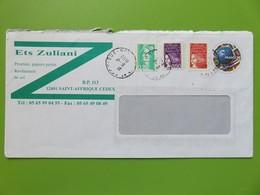 PAP - Entier Postal - Ballon De Briat France 98 - Ets Zuliani - St Affrique - Cachet à Date 06.11.1998 - Footix - Biglietto Postale