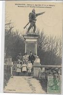 57 GRAVELOTTE . Monument Du 8ème Bataillon De Chasseurs Allemands, édit : F Conrard Metz , écrite En 1912 , état Extra - Otros Municipios