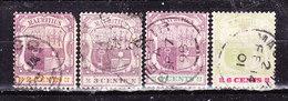 Mauritius 1895 -Stemmi  Valori Usati - Maurice (...-1967)