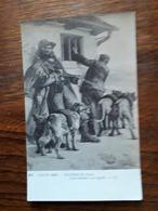 L11/95 Salon De 1909. Paul Eschbach. Contrebandiers Aux Aguets - Peintures & Tableaux