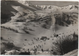 Ovindoli (L'Aquila): Campi Anfiteatro. Viaggiata 1968 - L'Aquila