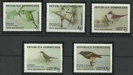 DOMINICAN REPUBLIC  1979  BIRDS  SET  MNH - Non Classés