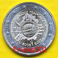 Frankrijk - France - 2 Euro 2012 Comm.(10 Jaar Euro Cash) - France