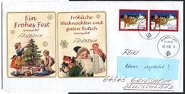 (1843) Aland, Julpost, Weihnachten, Schlitten, MARIEHAMN 30.11.2006, MeF - Aland