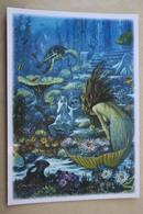Cormier   - MEERJUNGFRAU / Mermaid / Sirene / Nixe - Le Petite Sirene - Modern Russian Postcard - Turtle - Contes, Fables & Légendes