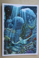 Cormier   - MEERJUNGFRAU / Mermaid / Sirene / Nixe - Le Petite Sirene - Modern Russian Postcard - Dolphin - Contes, Fables & Légendes