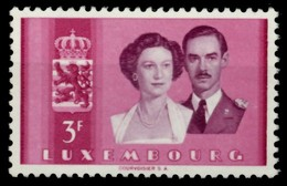LUXEMBURG Nr 508 Postfrisch X755FBA - Luxemburg