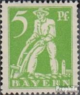 Bavière 178VI, Point Dans B De BAYERN Neuf Avec Gomme Originale 1920 Adieu La Série - Beieren