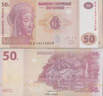 Kongo (Kinshasa) Pick-Nr: 97A Bankfrisch 2013 50 Francs - Kongo