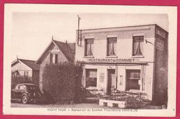 MONT NOIR  59 ( RESTAURANT DU SOMMET ) PROPRIETAIRE VANHECKE  VOITURE AUTOMOBILE - France