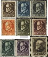 Bavaria 94II A-104II A (9 Values) Fine Used / Cancelled 1916 King Ludwig III - Bayern (Baviera)