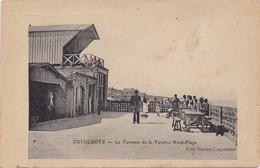 ZUYDCOOTE - 1910-1920 - La Terrasse De La Taverne Nord-Plage - Edit. Derley-Carpentier - Autres Communes