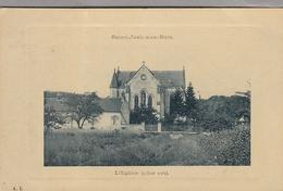 CPA - SAINT JEAN AUX BOIS - L'église (coté Est) - Francia