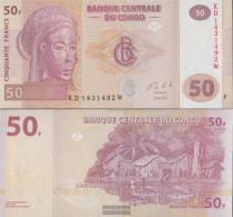 Kongo (Kinshasa) Pick-number: 97A Uncirculated 2013 50 Francs - Democratic Republic Of The Congo & Zaire