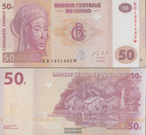 Kongo (Kinshasa) Pick-number: 97A Uncirculated 2013 50 Francs - Congo