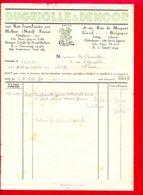 FACTURE (Réf: D581) DUGNIOLLE & DEMOOR HALLUIN (NORD) GAND (BELGIQUE) - Francia