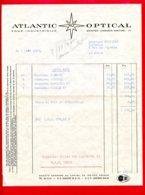 FACTURE (Réf : D603) ATLANTIC (AO) OPTICAL - SAINTES - France
