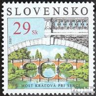 Slowakei 565 (kompl.Ausg.) Postfrisch 2007 Denkmäler - Slowakische Republik