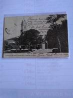 Chile Serena  Postcard Church& Central Plaza - Chile