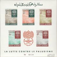 Afghanistan Block25B (kompl.Ausg.) Postfrisch 1962 Kampf Gegen Die Malaria - Afghanistan