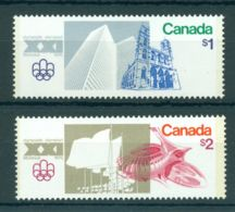 Canada, 1976, Olympic Summer Games Montreal, Sports, MNH, Michel 624-625 - Non Classés