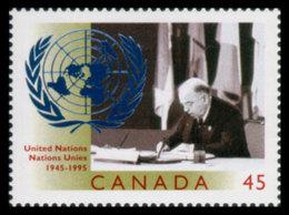 Canada, 1995, United Nations 50th Anniversary, MNH, Michel 1520 - Non Classés