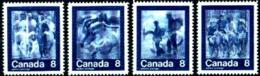 Canada, 1974, Olympic Summer Games Montreal, Sports, MNH, Michel 551-554 - Non Classés