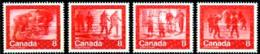 Canada, 1974, Olympic Summer Games Montreal, Sports, MNH, Michel 570-573 - Non Classés