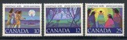 Canada, 1977, Christmas, MNH, Michel 669-671 - Non Classés