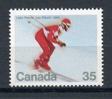 Canada, 1980, Olympic Winter Games Lake Placid, MNH, Michel 759 - Non Classés