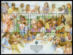 Canada, 1994, International Year Of The Family, United Nations, MNH, Michel Block 11 - Non Classés