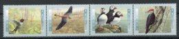 Canada, 1996, Birds, Animals, MNH Strip, Michel 1527-1530 - Non Classés
